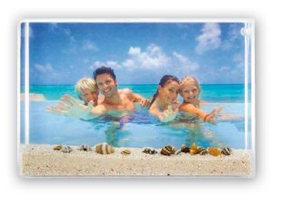 Κορνίζα ακρυλική – Honolulu 10cm X 15cm